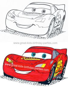 Disney Cars Birthday Party. this site has tons of ideas! especially diy invites