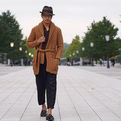 @tomoyoshi_takada • nice shawl, sir, nice shawl.