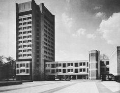 "Henry Burchard Fine Hall, Princeton University, Princeton, New Jersey, 1971 (Warner, Burns, Toan, Lunde) """
