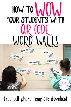 Download your free cellphone clip art template and follow the step-by-step directions to bring your word walls to life with this engaging, interactive activity!