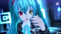 Sabías que Nuevas imágenes de Hatsune Miku: Project Diva X