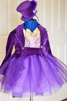 Willy Wonka Dress - pinned by pin4etsy.com