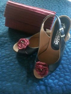 Cartera y zapatos tuneados