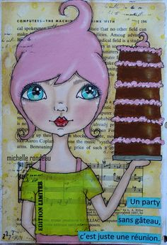 Art journal michelle rondeau