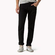 Hilfiger Denim Slim Fit Jeans - black comfort (Blue) - Hilfiger Denim Slim Fit - main image