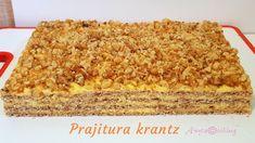 Romanian Desserts, Romanian Food, Romanian Recipes, Sweet Recipes, Cake Recipes, Dessert Recipes, Healthy Recipes, Food Cakes, Sweet Cakes