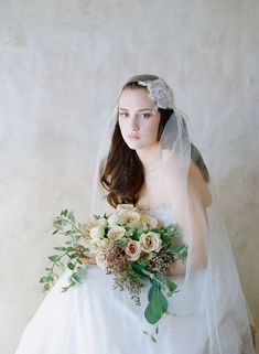 The Most Beautiful Veils for a Vintage Bride