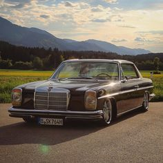 Sourkrauts × Made for Petrolheads Mercedes W114, Mercedes Benz Coupe, Moto Wear, Classic Mercedes, Classic Cars, Friends, Motorcycles, Goodies, Posts