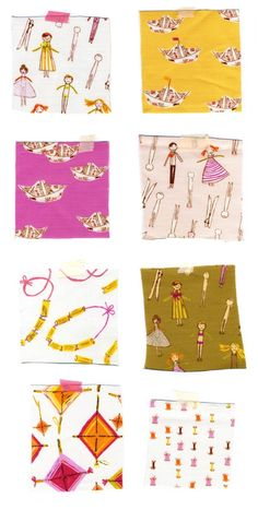 heatherross - blog - Macaroni Love Story: Available Now, Only atSpoonflower
