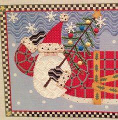 I love this Santa & the stitches!