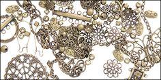 Antique Brass   Auntie's Beads