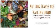 Let's Learn English for Kids: Autumn Leaves