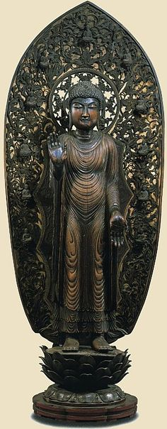 Shakya, Treasure of Seiryuji Temple, Northern Song Dynasty, China, AD 960 to 1126, brought to Japan from China in 987