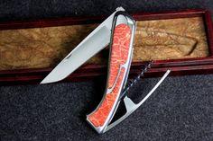Секрет коллекции нож сомелье Versailles коралла дамасской стали