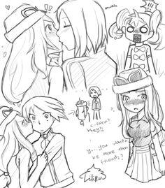 Kalosshipping doodles! by nabila300 on deviantART