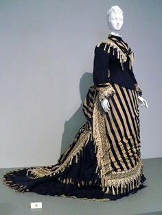 Reception dress by Emile Pingat, circa 1874. Description from pinterest.com. I searched for this on bing.com/images