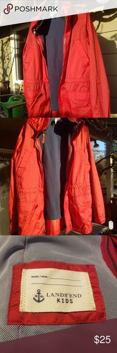I just added this listing on Poshmark: PERFECT CONDITION Kid's Rain Jacket w/Fleece Liner. #shopmycloset #poshmark #fashion #shopping #style #forsale #Lands' End #Other