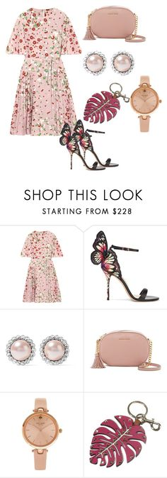 """""""Untitled #155"""" by estinur23 ❤ liked on Polyvore featuring Valentino, Sophia Webster, Miu Miu, MICHAEL Michael Kors and Kate Spade"""