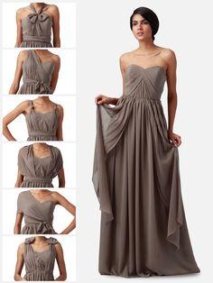 Multi-wear Chiffon Dress