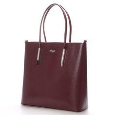#hit #2016  Novinka našeho e-shopu. Luxusní model od značky Maggio je odrazem elegance, luxusu a stylovosti. Vínová saffianová kabelka Maggio Florida je opravdovým skvostem, perfektní tvar, jemné doplňky, čistota designu. Vezměte si ji na společenskou akci, ale i do práce nebo jen tak do města. Kabelka je středně velká a pevná. Uvnitř vám kabelka nabídne menší kapsy bez zipu a se zipem a nedělený prostor s černou podšívkou.