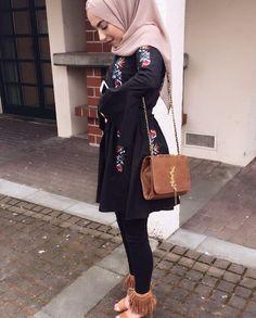 Hijab style ❤️ Pinterest @adarkurdish