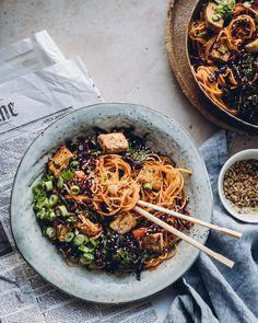 Good Food, Veggies, Tofu, Healthy, Ethnic Recipes, Recipe Ideas, Vegetable Recipes, Vegetables, Health