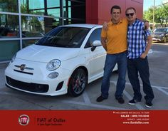 https://flic.kr/p/FJAC6i   Congratulations Edward And Gary on your #FIAT #500 from Jessica Rubio at FIAT of Dallas!   deliverymaxx.com/DealerReviews.aspx?DealerCode=F741