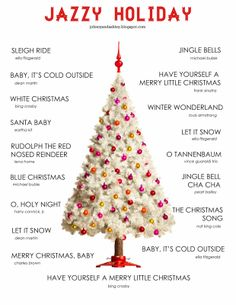 Jazzy Christmas Playlist
