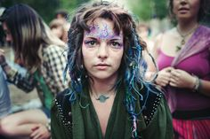 look at this beautiful photograph of the rainbow people gatherings (read the website)