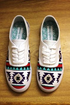 hand painted shoes by KaylasGettinPlace on Etsy
