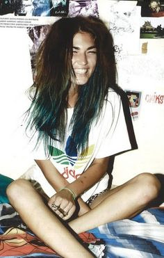 blue dip dye:) now I really wunna try this:) on myself