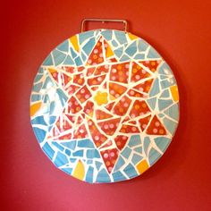 A personal favorite from my Etsy shop https://www.etsy.com/listing/237818229/judaica-mosaic-star-of-david-jewish-wall