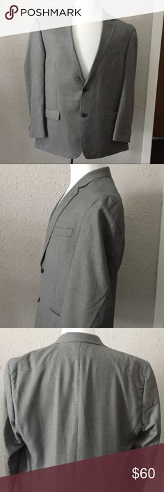 Michael Kors Gray Blazer Suit Jacket Sport Coat44R Grey and Black Checkered Sport Coat by Michael Kors. 44R This coat is in excellent used condition. Contact me with questions. Micheal Kors Suits & Blazers Sport Coats & Blazers