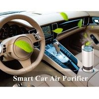 DBPOWER JC-802 Car air purifier Gold oxygen ozone generator, air purifier car vehicle In addition to
