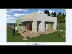 planos de casas modernas - proyecto de arquitectura rio negro