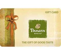 Enter to Win A $50 Panera Bread Gift Card - Drawing June 28th