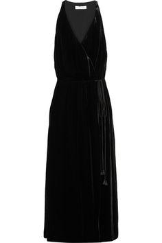Chloé | Velvet maxi dress | NET-A-PORTER.COM