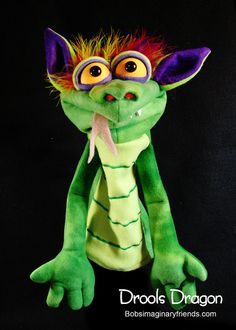 Wow, I need some more skills. Drools Dragon Hand Puppet or Ventriloquist by BobsImagination, $49.00