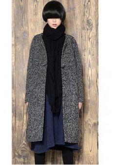 2014 Winter Casual Long Style Cloak Wool Overcoats