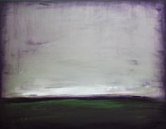 I love the moody colors in this abstract painting.