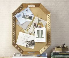 DIY Vintage Message Board | House & Home | Photo by Felix Wedgwood
