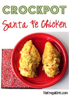 Crockpot Santa Fe Chicken Recipe! ~ from TheFrugalgirls.com ~ this simple dinner dish takes just a few minutes of effort and is SO delicious! #slowcooker #recipes #thefrugalgirls