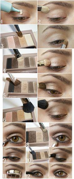 Gorgeous Makeup: Tips and Tricks With Eye Makeup and Eyeshadow – Makeup Design Ideas Eye Makeup Tips, Skin Makeup, Eyeshadow Makeup, Makeup Brushes, Makeup Ideas, Foil Eyeshadow, Makeup Box, Makeup Hacks, Makeup Geek