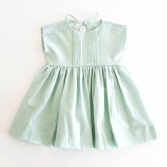 Soor Ploom Edie Dress, Seafoam fingers crossed its a girl! Baby Kind, My Baby Girl, Baby Girls, Little Girl Fashion, Kids Fashion, Little Girl Dresses, Girls Dresses, Toddler Outfits, Kids Outfits