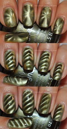 China Glaze's Magnetix Cling On Nail Art