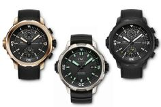 Pre-SIHH 2014: Introducing The New IWC Aquatimer Collection