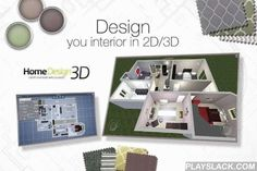 Home Design 3D - FREEMIUM  Android App - playslack.com ,  For the first time for Android users, you will have access to a powerful app that allows you to create, design and customize all your plans and ideas.[Discover the free version of the reference application Home Design 3D.In this version, you can test the features of the application and explore its possibilities.This version can be used without limit. But be careful, projects can not be saved in this version. However, projects created…
