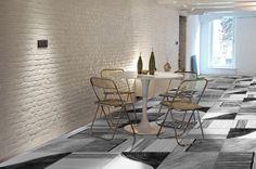 Tile- Liquidart Collection -Black&White 60x60 /by @ornamentatiles