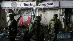 Russian mercenaries at Donetsk airport