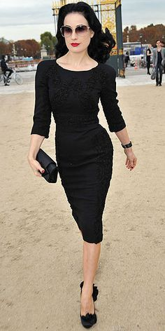 Dita Von Teese outfit - Google Search